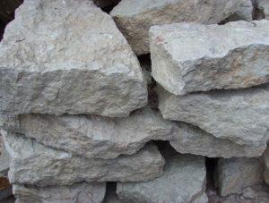 Кладочный камень «Бело-серый»