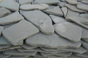 Галтовка Песчаник Серо-Зеленый