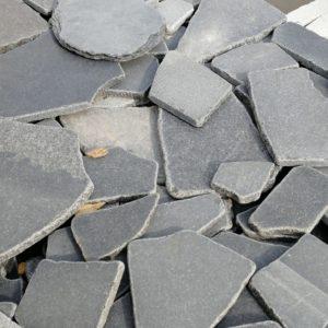 Брекчия галт - Гранит Серый Микс
